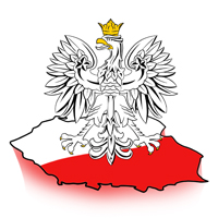 obrazek flaga i godło