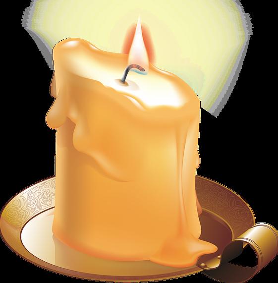 obrazek świeca