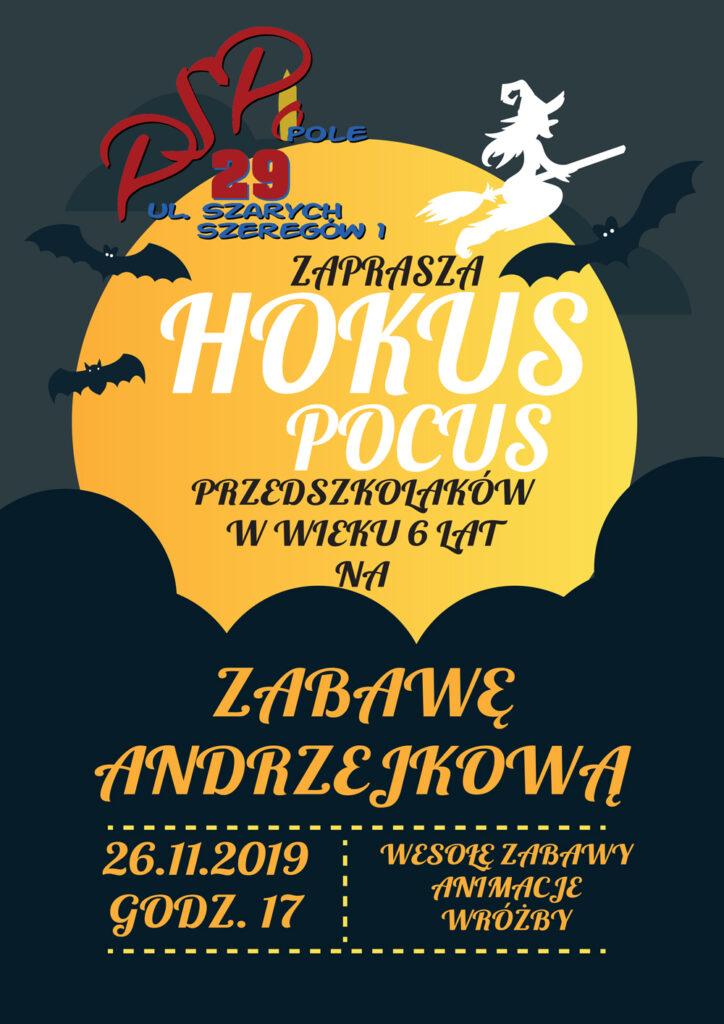 Andrzejki, 26.11, godz. 17.00