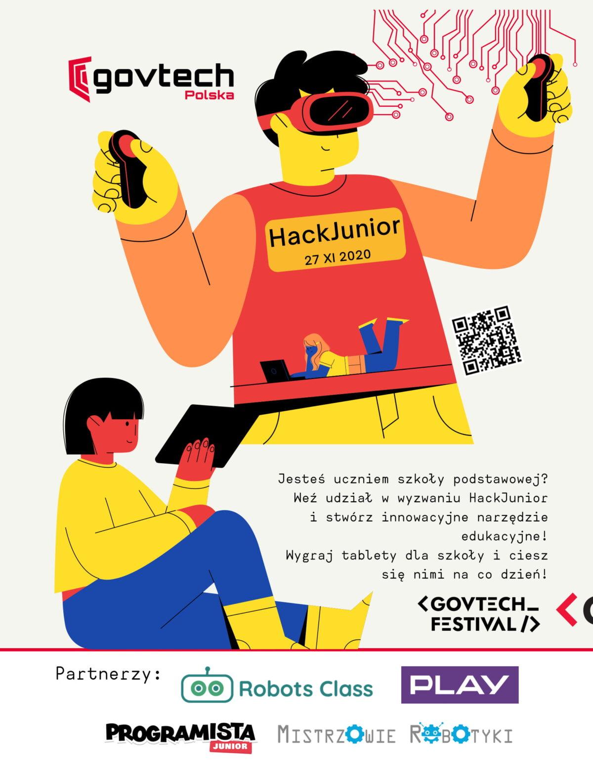 HackJunior plakat