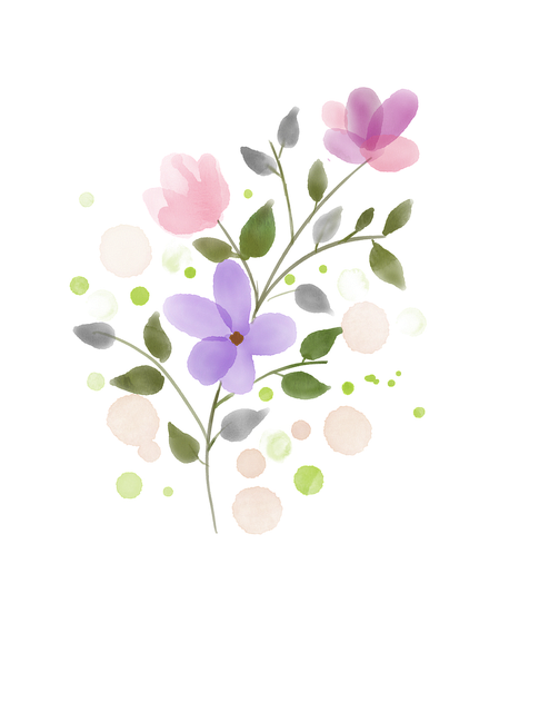 obrazek kwiatek