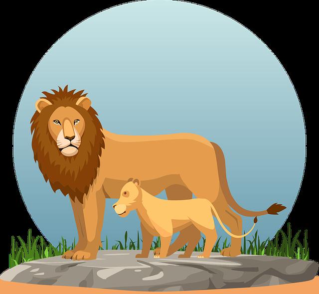obrazek lwy