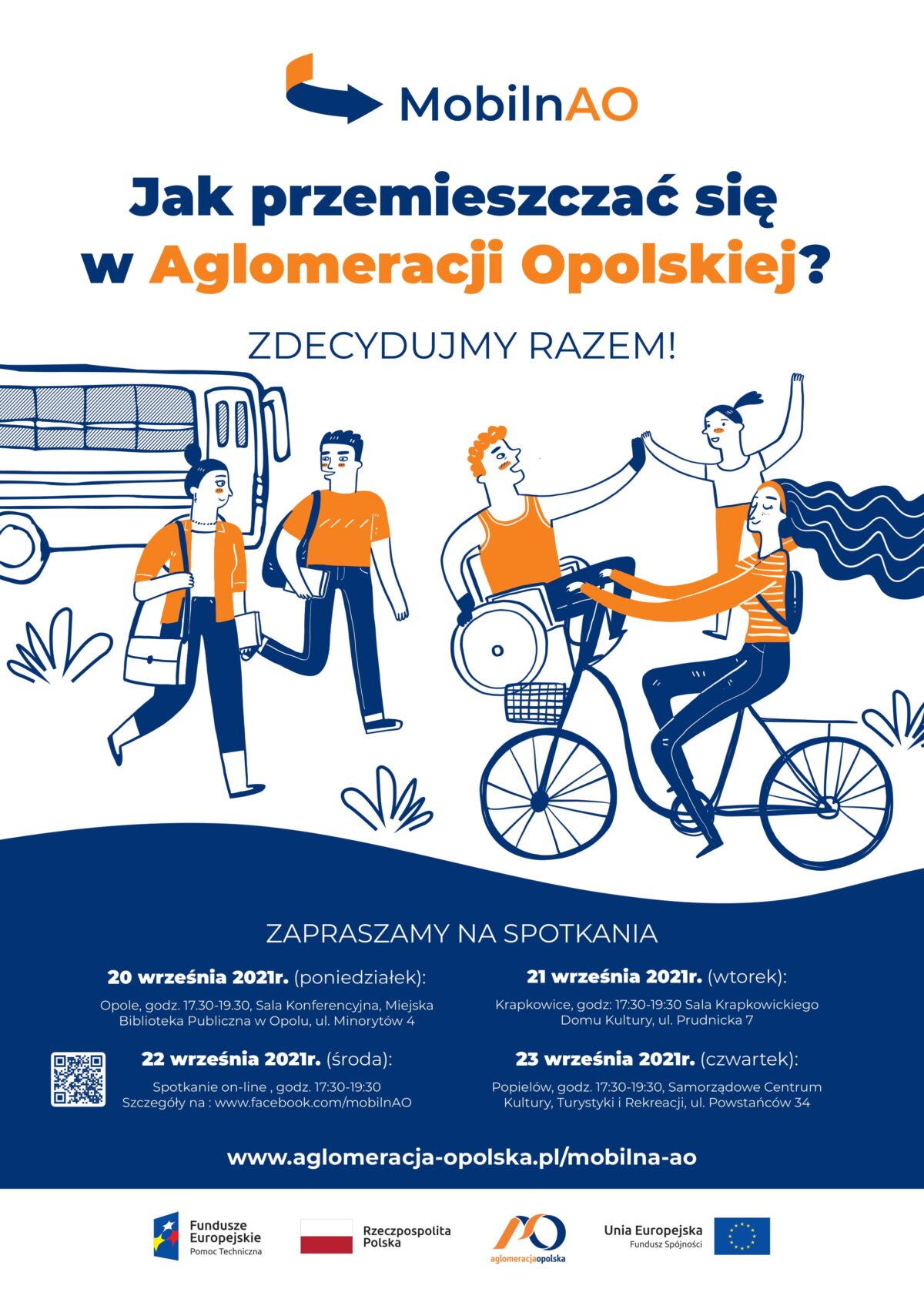 Jak przemieszczać się w Aglomeracji Opolskiej? Zdecydujmy razem.